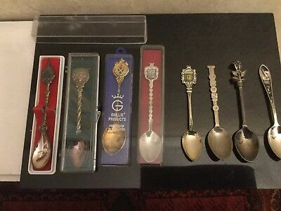 Vintage Collection Of Silver Plated Teaspoons