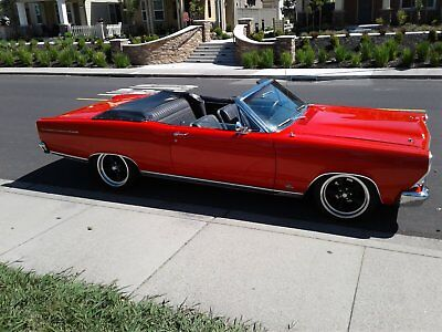 1966 Ford Fairlane Polished Ford Fairlane 1966 XL 500 convertible 4spd