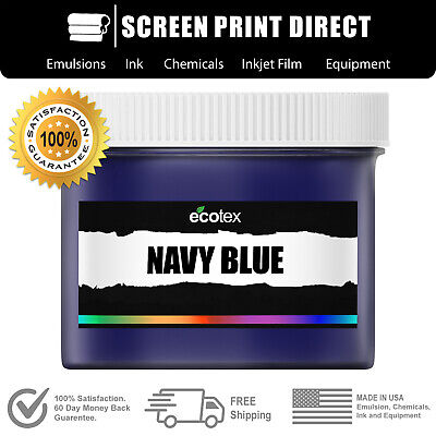 Ecotex NAVY BLUE NP - Premium Plastisol Ink for Screen Printing - ALL SIZES