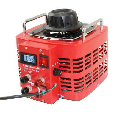 Bench Top 30 Amp Variac Variable Auto-Transformer with LCD Digital Display