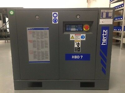 10 hp Hertz rotary screw air compressor