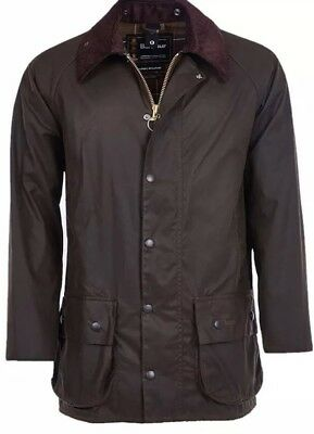 Mens Barbour Beaufort 42 Classic Brown (waxed Jacket) BRAND NEW WITH TAGS
