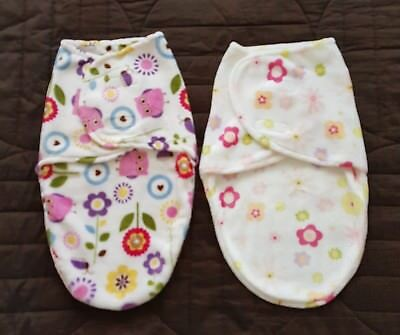 Baby girl swaddles x2