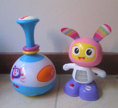 2x Fisher Price Bright Beats Musical Toys: 3-in-1 Bright Pod & Juniors Beatbelle