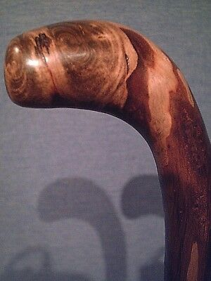 shillelagh cane walking stick maple wood american made for average size hands