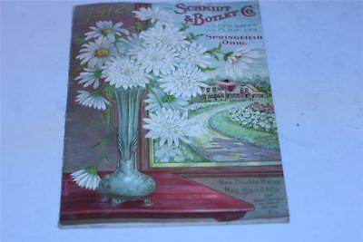 1912 Schmidt & Botley seed catalog, Springfield, OH