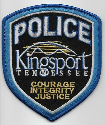 Kingsport Police State Tennessee TN patch NEW