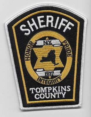 Tompkins County Sheriff State of NEW YORK NY Shoulder Patch