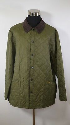 C3310 Men's BARBOUR Liddesdale Snap-Button Quilted Jacket