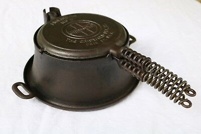 Griswold American No. 8 Waffle Iron Maker with High Base