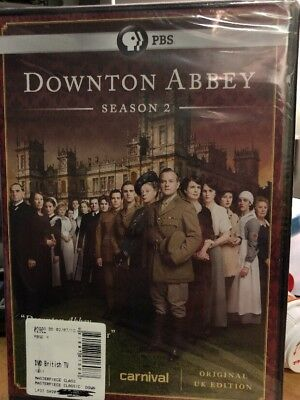 Downton Abbey: Season 2 (DVD, 2012, 3-Disc Set) - NEW SEALED!