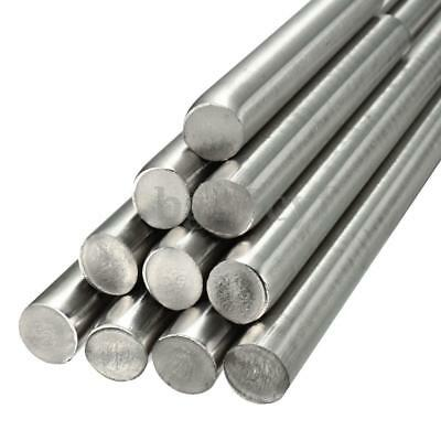 Stainless Steel 304 Round Bar Solid Rod Dia 3 4 5 6 8 10 14 mm 125mm-500mm