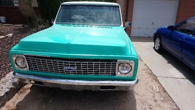 1971 Chevrolet C-10  1971 chevrolet C10 fleetside