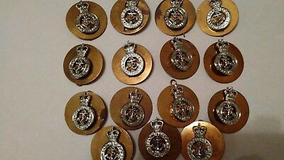 British Military Admiralty Constabulary Cap Badge Lot