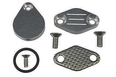EGR DELETE BLOCK Off Plate WITH Gasket FOR Ford Mustang 87