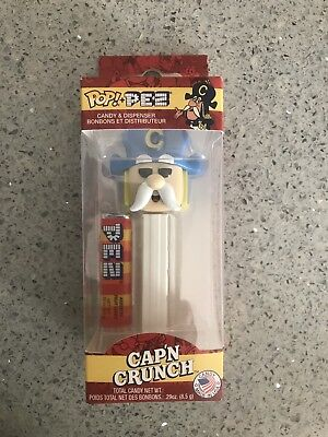 Funko Pop Pez CAP'N CRUNCH Limited Edition Ad Icons Captain NEW IN-HAND!!