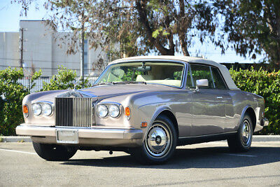 1993 Rolls-Royce Corniche IV RARE Corniche IV, very collectible, hard to come by, IMMACULATE! LOW MILES!