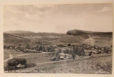 Lyons And Steamboat Rock Colo CO RPPC Sanborn