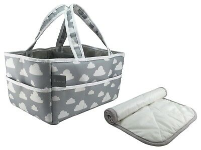 Suncoastbaby's The Big Baby Bag - Large Diaper Caddy w/ Free Changing Pad Liner!
