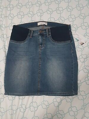 Maternity Denim Skirt size 10
