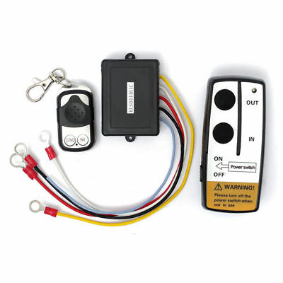 Latest 12V Electric Wireless Winch Remote Control Heavy Duty For Truck ATV SUV