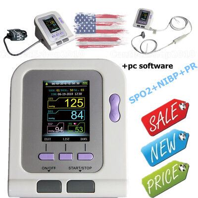 New Infant Child Digital Blood Pressure Monitor,Born Baby Spo2 NIBP,PC Software