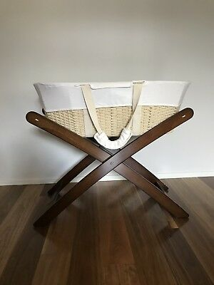 Natures Purest Moses basket with stand