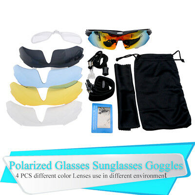 Professional Polarized Cycling Glasses Sports Outdoor Goggles Casual Sunglasses