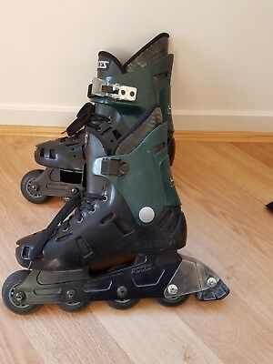 Adult Roller blades (used), size 8