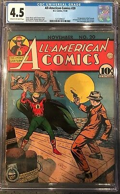 All-American Comics #20 CGC 4.5 1st app. of the Red Tornado!KEY ISSUE!L@@K!