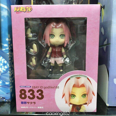 Nendoroid 833 Naruto Shippuden Sakura Haruno PVC Action Figure New In Box