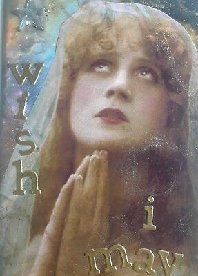 Aceo Original Collage, Wish On A Star
