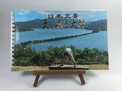 Vintage Amanohashidate Souvenir Color Photo Picture Book in Japanese & English
