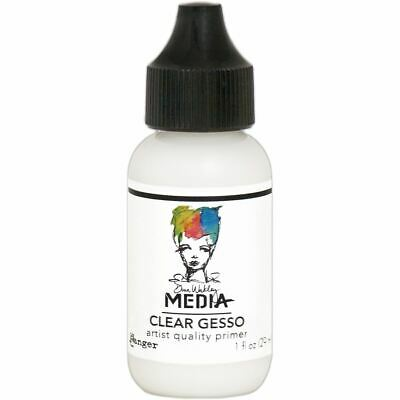 Gesso 1Oz Tube - Clear - Dina Wakley Media