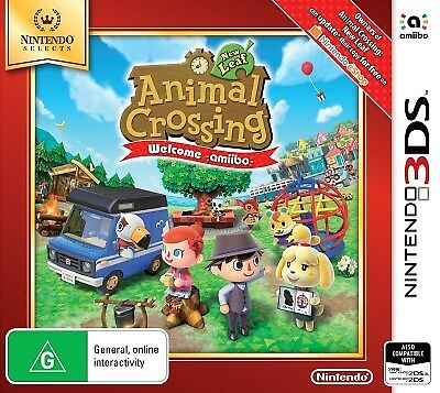 Animal Crossing New Leaf Welcome amiibo (Nintendo Selects) - 3DS (NEW & SEALED)