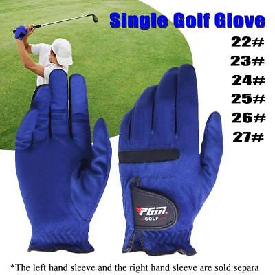 1PC Men's Anti-Slip Particles Left/Right Hand Gloves Sweat Absorbent Golf Gloves