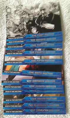 Doctor Who 2015 by Topps 12 Card Who is the Doctor Chase set D1-12