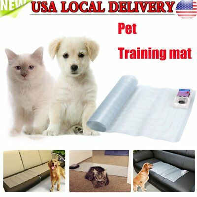 Car Indoor Pet Training Dog Cat Barrier Repellent Shock Scat Mat Pad NEW