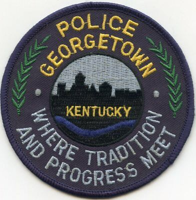 GEORGETOWN KENTUCKY KY Where Tradition And Progress Meet POLICE PATCH