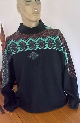 Vintage 80's 90's Men's Play Back Fleecy l/s pullover top Size M
