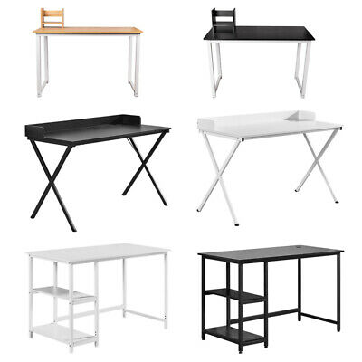 Modern Computer Desk Study Table PC Laptop Workstation Home Office File Cabinets