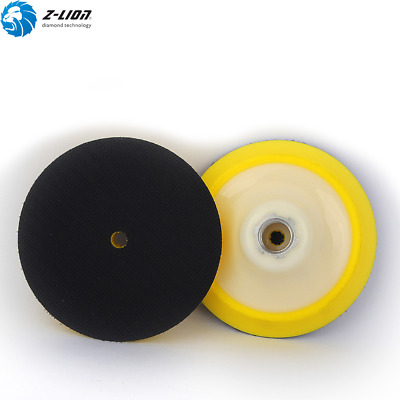 2PCS 4 Inch Plastic Foam Backer Pad Plate Car Polishing Buffing Pad 5/8-11 Disc