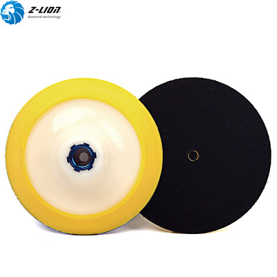 2Pcs 5 Inch Plastic Foam Backer Pad Buffing Pad Backing Diamond Polishing Pads