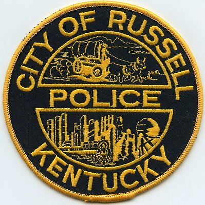Russell Kentucky Ky Police Patch