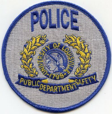 University Of Louisville Kentucky Ky Campus Police Patch