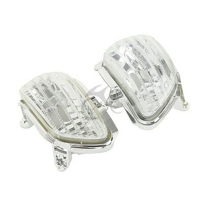 New Clear Front Left Right Turn Signal Lens Fit For Honda F6B F6 B 2013-2015