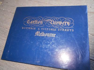 Scarce Slipcase 1st Carlton United Brewery CUB 1858-1907 beer history Melbourne