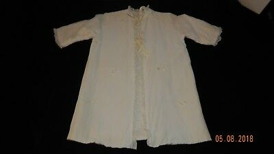Antique  Baby Jacket Coat Ribbons Lord and Taylor Julius Berger & Co