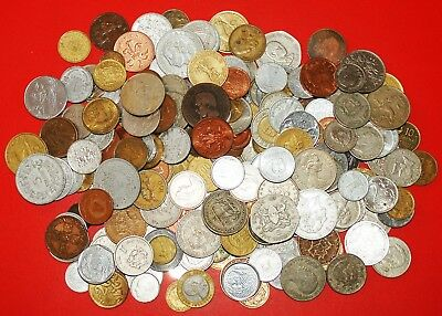 √ Kilo: Large Lot ★ Hundreds Of World Coins! Low Start★No Reserve!