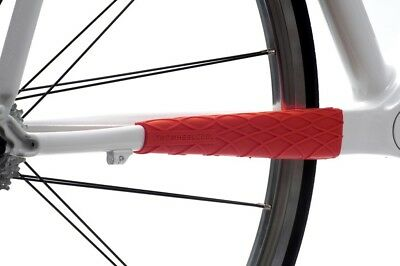 Twowheelcool : Kettenstrebenschutz - Wrapper Chainstay Guard - Red - Oversized